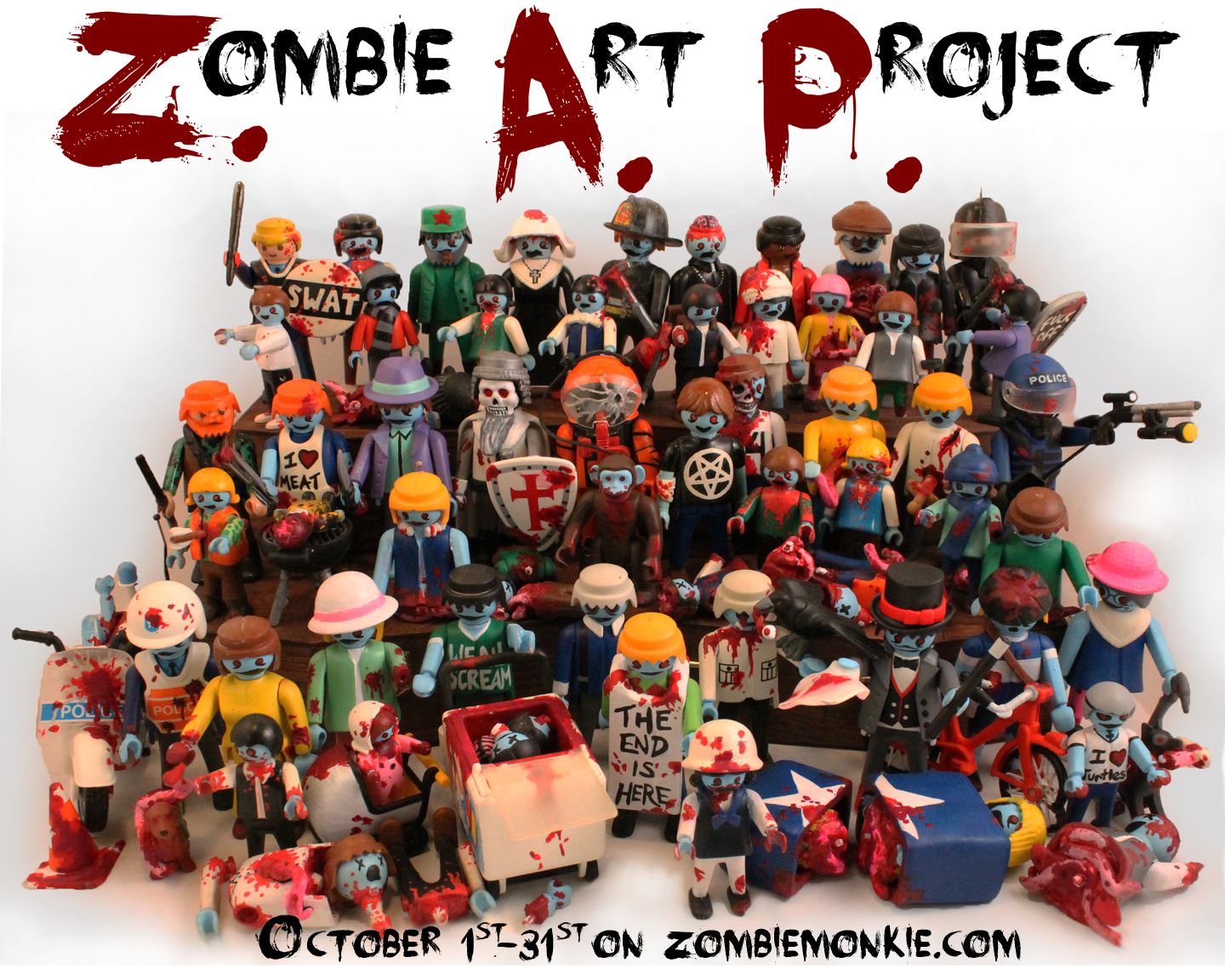 Zombie Poster Design Different