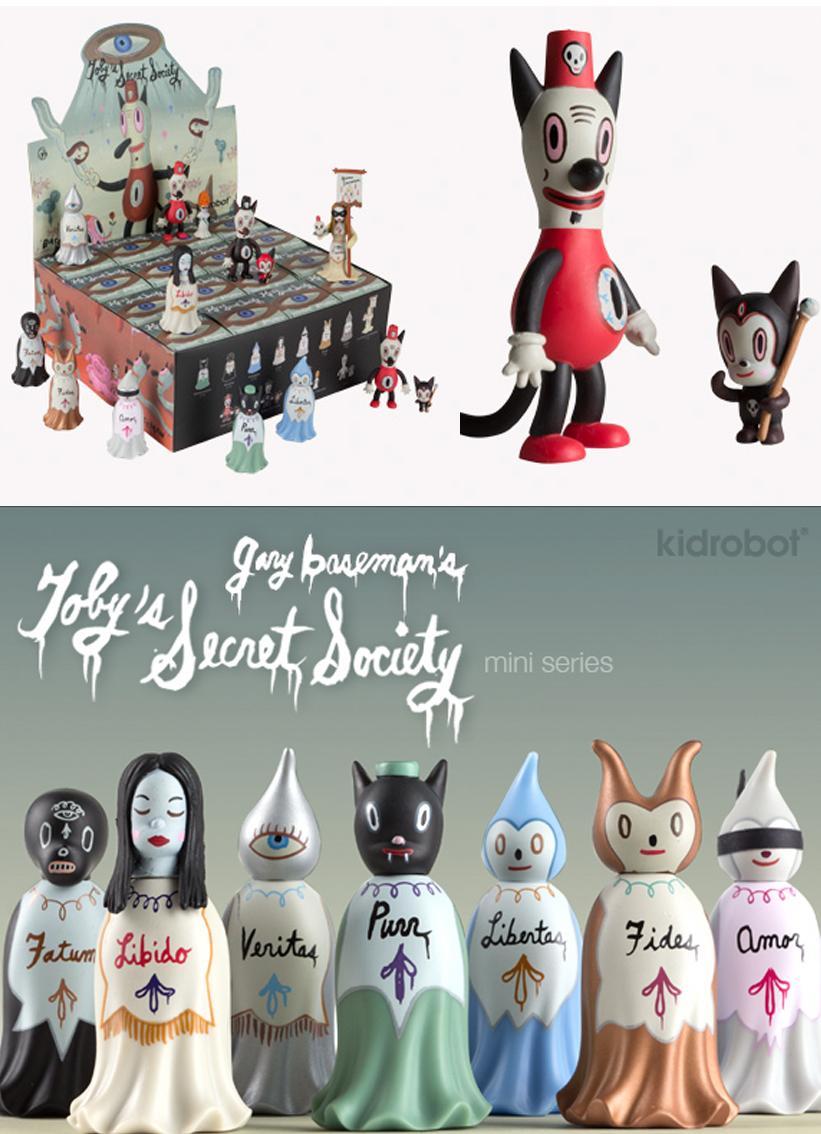 Kidrobot Toby's Secret Society Destiny