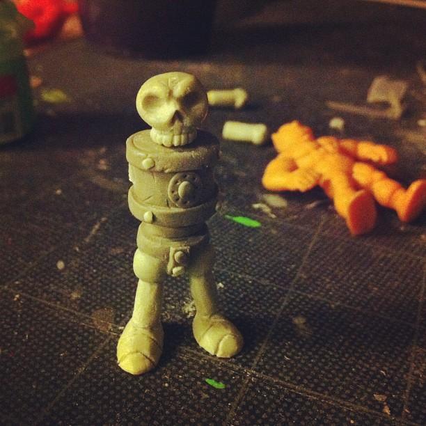 resin casting |