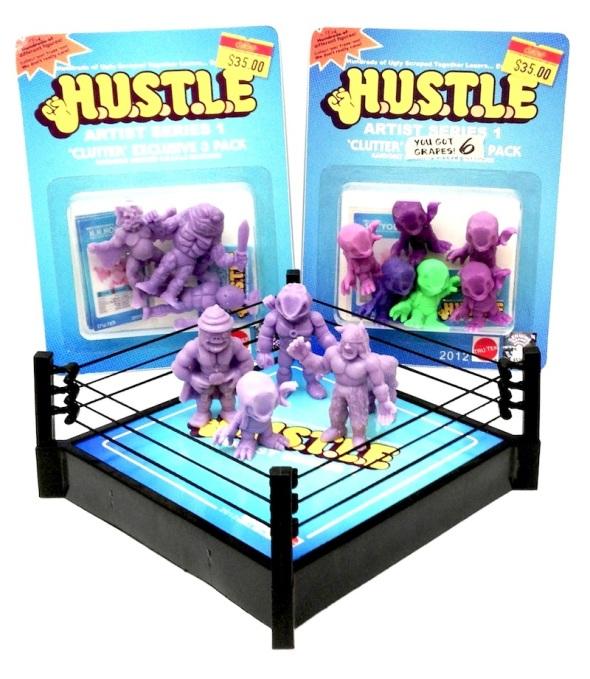 clutter exclusive hustle