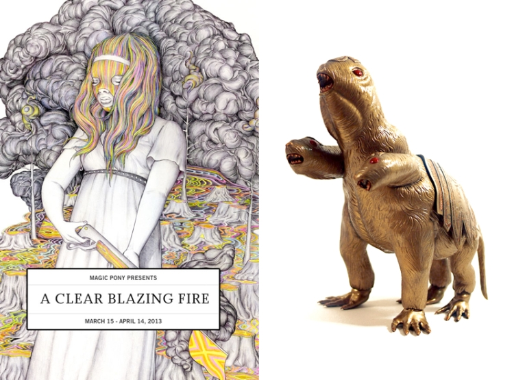 A Clear Blazing Fire - Flyer