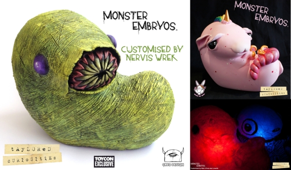 nervis wrek custom monster embryo for taylored curiosities 2