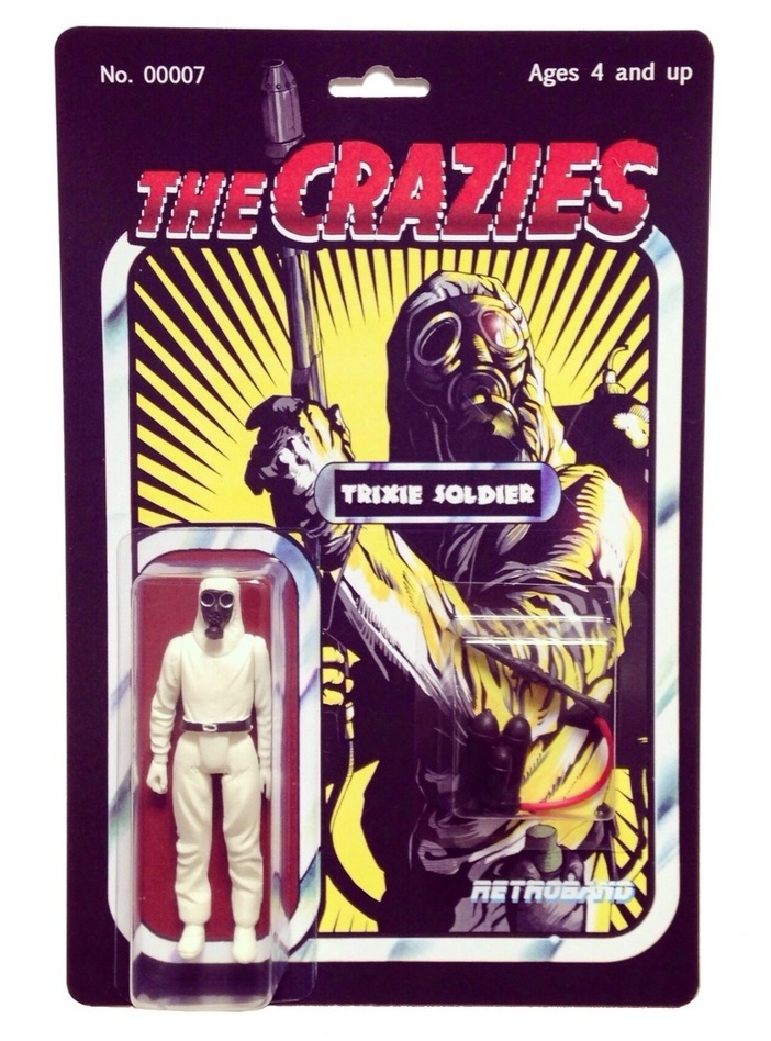 MAN-E-NEWS// The Crazies' Trixie Soldier resin action ...