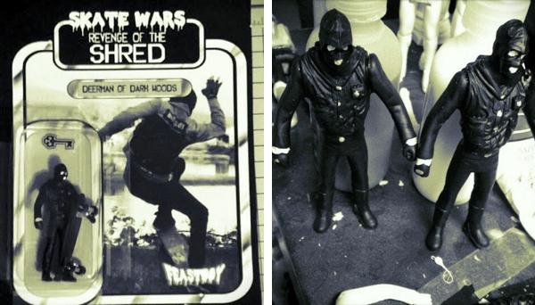 MAN E NEWS Skate Wars Round 2 Deerman Of Dark Woods Resin