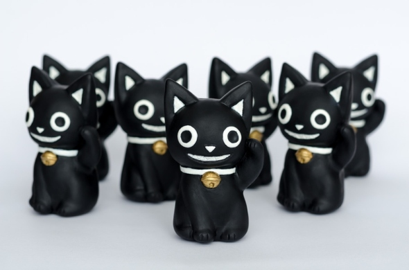 maneki neko - black edition - 1