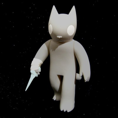 Cat with Dagger