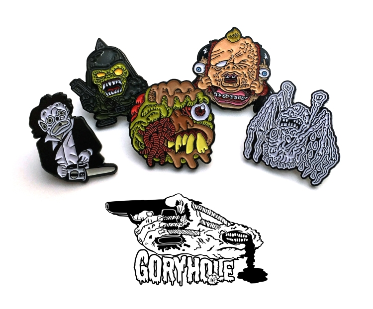 gory pins promo for trade