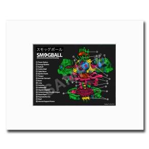 smogball kaws print promo